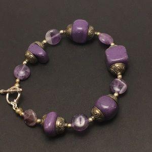 Jewelry - Stone Bead Bracelet